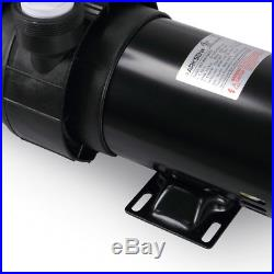 1.5HP Above Ground Swimming Pool Pump Motor Outdoor 5520GPH 3450RPM With Strainer