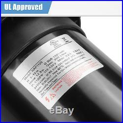 1.5HP Portable 110-120V Swimming Pool Water Pump Electric Pressure Water Filter
