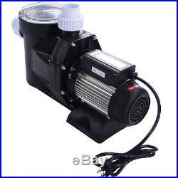 1.5HP Swimming Pool Electric Pump Water Above Ground SPA DC 5040 GPH 1-1/2 NPT