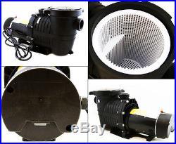 1 HP Inground Above Ground Swimming Pool Energy Saving Pumps 3450 / 1750 rpm