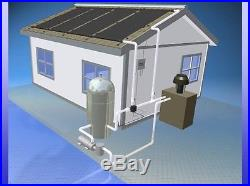 15,000 gal Inground Pool Solar Heater 4 Panel System