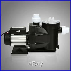 2.5HP In Ground Swimming Pool Pump Motor Electric 1850W High-Flo Strainer PRO