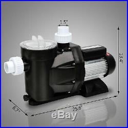 2.5hp Swimming Pool Single Speed 115v1850w 8880gph Spa Filter Water Pump