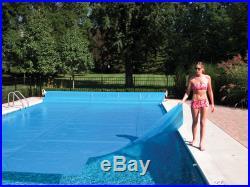 20'x40' Ft Rectangle Blue Swimming Pool Solar Cover Heating Tarp Blanket-12 Mil