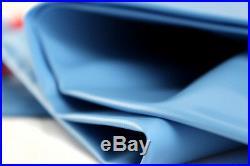 20x40 Dark Blue Winter Rectangular Inground Swimming Pool Cover withWater Tubes