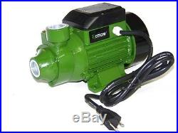 3/4 HP Centrifugal Electric Water Pump Pool Farm Pond BioDiesel HOTECHE 1