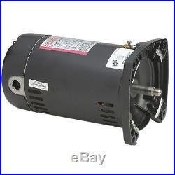 A. O. Smith 1 HP USQ1102 Square Flange 115/230V Pool Pump Motor