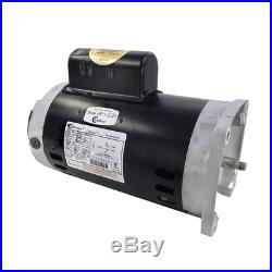 A. O Smith 2 HP B855 56Y Square Flange Up-Rated Pool and Spa Pump Motor 230V