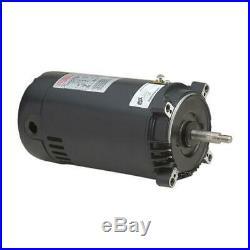 Century UST1102 1 HP Hayward Super Pump Motor C-Face Round Flange