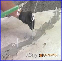 Concrete Crack Repair Kit Epoxy Injection DIY for Pool Basement Wall Floor etc