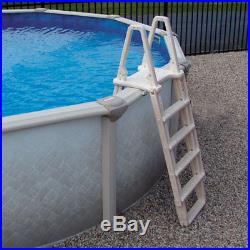 Confer Evolution A-Frame Aboveground Swimming Pool Ladder 7100X Fits 48-54