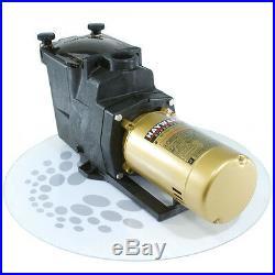 Hayward 2 HP Super Pump SP2615X20 Inground Pool Pump with 2 Port, 115v/230v