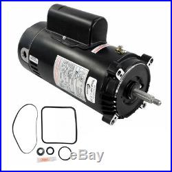 Hayward Super Pump 2 HP SP2615X20 Motor Kit AO Smith UST1202 with GO-KIT-3