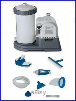INTEX 2500 GPH GCFI Pool Filter Pump with Timer (633T) & Deluxe Maintenance Kit