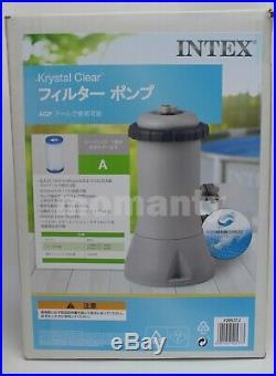 Intex 1000 GPH Easy Set Swimming Pool Cartridge Filter Pump 28637 100V