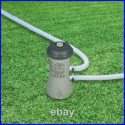 Intex 1000 GPH pump Krystal Clear Cartridge Filter Pump for Above Ground Pools