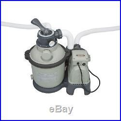 Intex 1200 GPH Krystal Clear Above Ground Pool Sand Filter Pump Set 28643EG