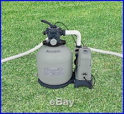 Intex 2650 GPH Saltwater System & Sand Filter Pump Swimming Pool Set 28679EG