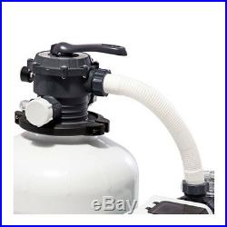 Intex 3000 GPH Above Ground Pool Sand Filter Pump with Automatic Timer 26651EG