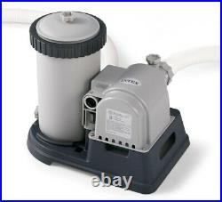 Intex Krystal Clear Cartridge Filter Pump for Above Ground Pools 2500 GPH Pu