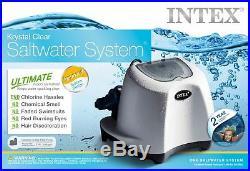 Intex Krystal Clear Saltwater System Chlorinator withGFCI Model 26667EG
