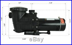 Mighty Niagara 2 HP In-Ground Single Speed Swimming Pool Pump 230V