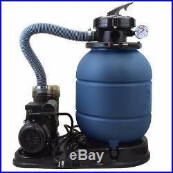 NEW 4-WAY 2400GPH 13 Sand Filter with Swimming Pool Pump UL List 10000GAL KIT SET