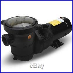 New 1 HP Pump Above Ground swimming Pool filter 1.5 port hi flo 115v motor