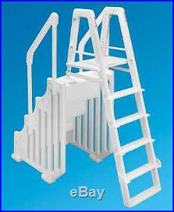 Ocean Blue 38 Mighty Step & Ladder Set Aboveground Swimming Pool Entry System