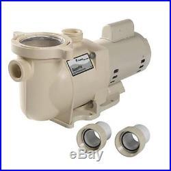 Pentair 340039 SuperFlo 1 1/2 HP Swimming Pool Pump 115/230V