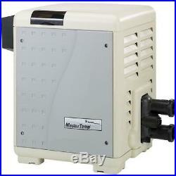 Pentair 460805 MasterTemp Low NOx 400,000 BTU Natural Gas Cupro-Nickel Heater