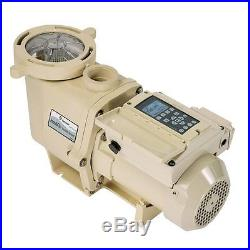 Pentair Intelliflo 3 HP Variable Speed Swimming Pool Pump ...