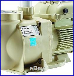Pentair Superflo 1.5 HP 115/208-230 Volt Variable Speed VS Pool Pump 342001