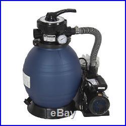 Pro 2400GPH 13 Sand Filter Above Ground Swimming Pool Pump 10000GAL