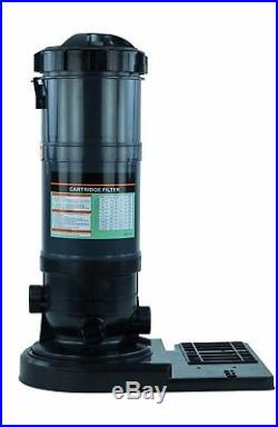 Rx Clear Radiant PRC120 120 Sq. Ft. Above Ground Swimming Pool Cartridge Filter