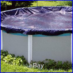 Swimline 30 Foot Heavy Duty Deluxe Round Above Ground Winter Swimming Pool Cover