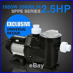 TOP 2.5 HP Swimming Pool Pump Single Speed 115V replaces Hayward Above Ground US