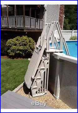 VinylWorks AF-T Above Ground Swimming Pool Step & Ladder Entry System Taupe