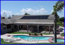XLong Inground Above Ground 56x20' Solar Energy Swimming Pool Sun Heater Panel